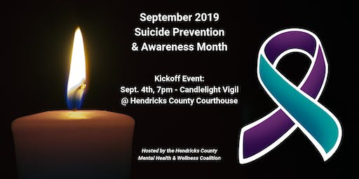 2019 Suicide Awareness & Prevention Month - Candlelight Vigil