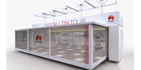 The Huawei 5G Experience tickets