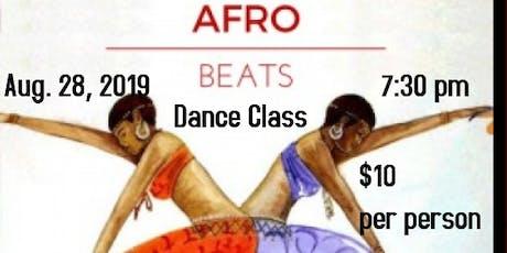 Afro Beats Dance Class tickets