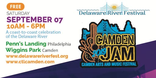Delaware River Festival - featuring Camden Jam and more!
