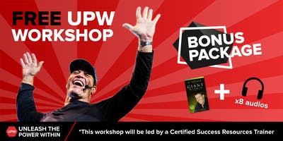 Wales - Free Tony Robbins Unleash the Power Within Workshop 23rd November