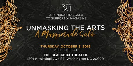 Unmasking The Arts tickets