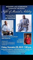 The Mississippi Jazz Foundation 16th Annual Night Of Musical Artistry