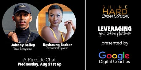 ShineHard Conversations featuring Deshauna Barber tickets