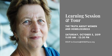 WISEPlace Learning Session and Tour - October tickets