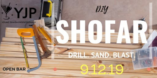 DIY Shofar and Open Bar!