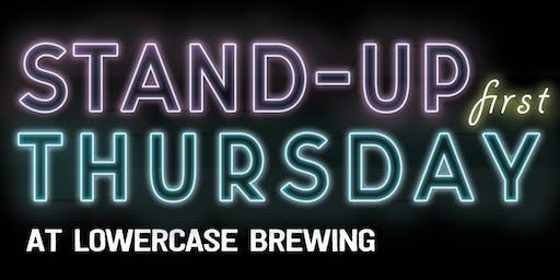 Stand-Up Comedy: Lang Parker, Mike Masilotti, Birungi Birungi, & Travis Nelson live at Lowercase Brewing!