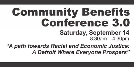 Community Benefits Conference 3.0 tickets