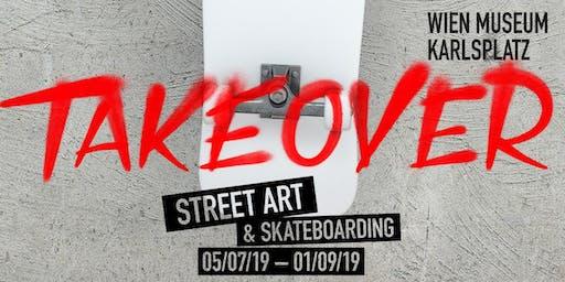 Instawalk zu Takeover – Street Art & Skateobarding