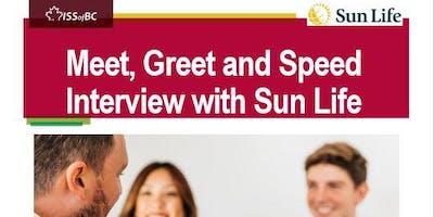 Meet, Greet & Speed Interview with Sunlife