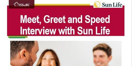 Meet, Greet & Speed Interview with Sunlife tickets
