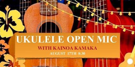 Ukulele Open Mic with Kainoa