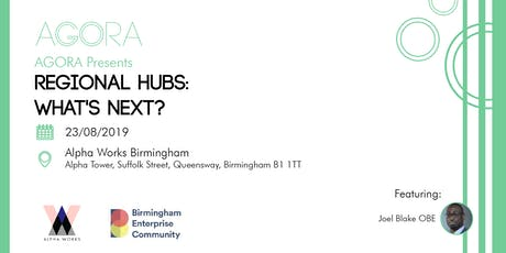 Regional Hubs: What's Next? tickets