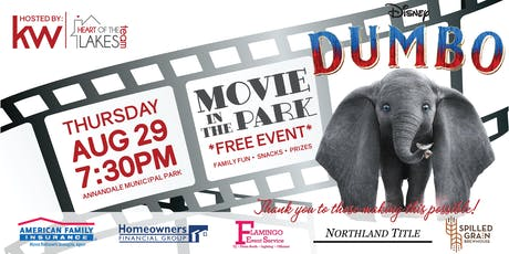 Aug 2019: Annandale Movie in the Park tickets