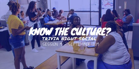 Know Your Culture? Trivia Social (September Edition) tickets