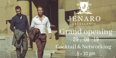 JENARO's Showroom / Grand Opening / Cocktail and Networking tickets