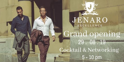 JENARO's Showroom / Grand Opening / Cocktail and Networking