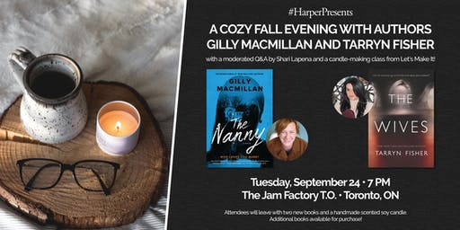 #HarperPresents: an evening with authors Gilly Macmillan and Tarryn Fisher