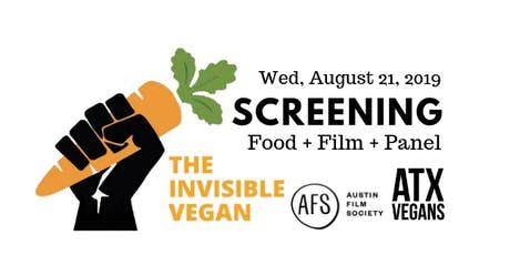 The Invisible Vegan: Screening tickets