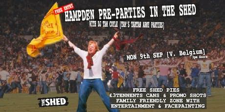 THE TARTAN ARMY HAMPDEN PRE-PARTY SCOTLAND V BELGIUM tickets