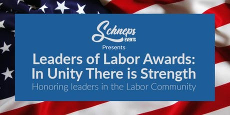 Leaders of Labor Awards tickets
