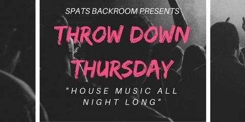 Throw Down Thursday! (House & EDM Night Berkeley)