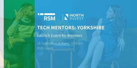 Tech Mentors: Yorkshire - Mentee Launch Event tickets