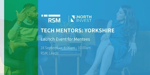 Tech Mentors: Yorkshire - Mentee Launch Event
