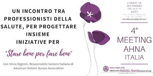 4° MEETING AHNA Sezione ITALIA
