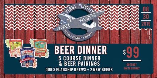 First Flight Brewfest Beer Dinner