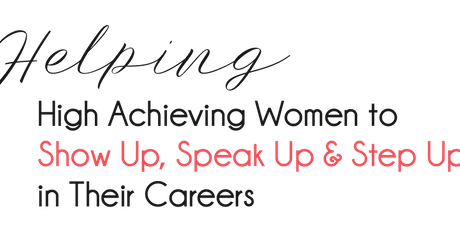 Women In Pharma -  Show Up, Speak Up & Step Up tickets