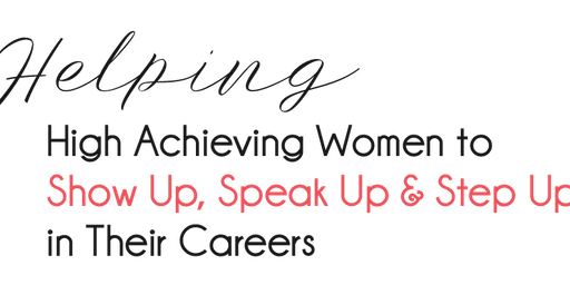 Women In Pharma -  Show Up, Speak Up & Step Up