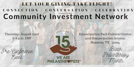 Black Philanthropy Month 2019 & CIN 2019 Pre-Conference Event  tickets