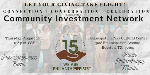 Black Philanthropy Month 2019 & CIN 2019 Pre-Conference Event