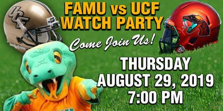 FAMU VS UCF FOOTBALL  WATCH PARTY tickets