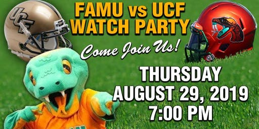 FAMU VS UCF FOOTBALL  WATCH PARTY