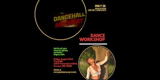 Afrobeats & Reggae Dance Workshop