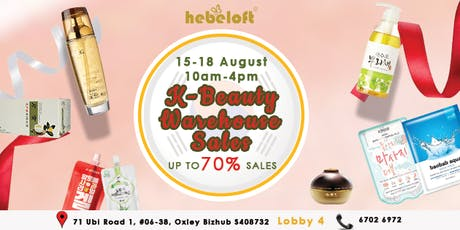 Hebeloft Warehouse Sale tickets