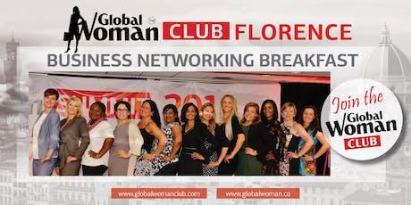 GLOBAL WOMAN CLUB FLORENCE: BUSINESS NETWORKING BREAKFAST - OCTOBER biglietti