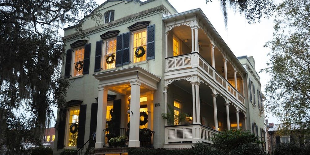 Christmas In Savannah Georgia 2019.Holiday Tour Of Homes And Inns Tickets Sat Dec 7 2019 At