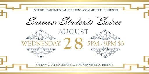 ISC Presents: Summer Students Soirée