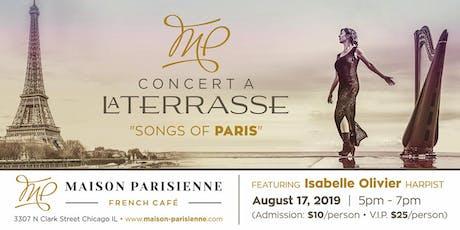 SONGS OF PARIS Concert tickets