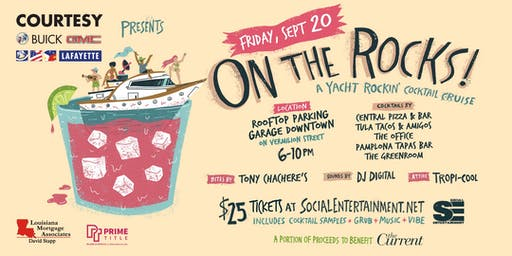 "On The Rocks! ""A Yacht Rockin' Cocktail Cruise"" 2019"