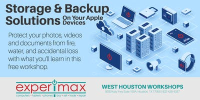 Storage and Backup Solutions On Your Apple Devices - Free - Experimax WH