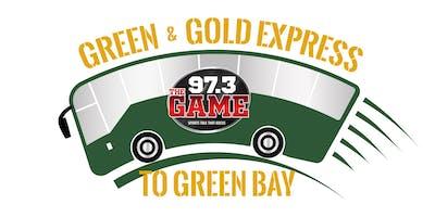 Green & Gold Express to Green Bay