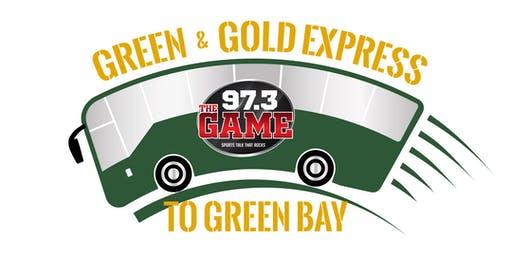 Green & Gold Express to Green Bay