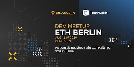 Binance Dev Meetup ETHBerlin tickets