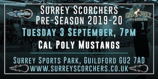 Surrey Scorchers v Cal Poly Mustangs - 2019 Pre-Season