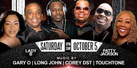 DJ GARY O & FRIENDS ANNUAL BLACK PARTY 2019 tickets