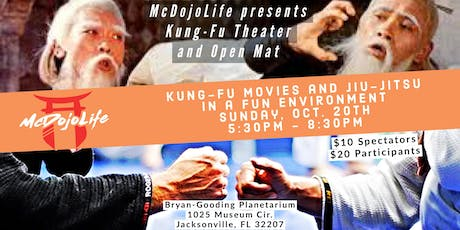"McDojoLife presents ""Kung-Fu Theater an Open Mat"" tickets"